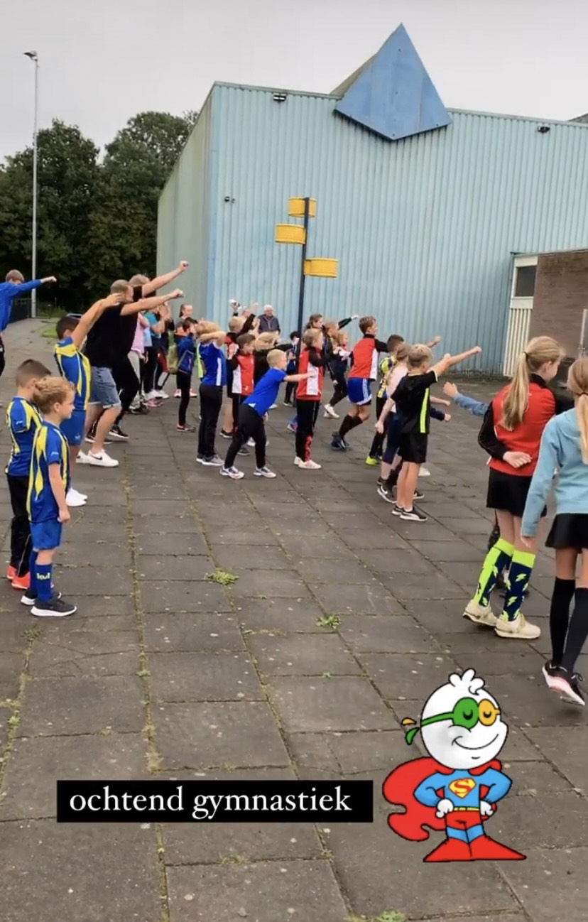 Seizoenaftrap jeugd met sport en speldag