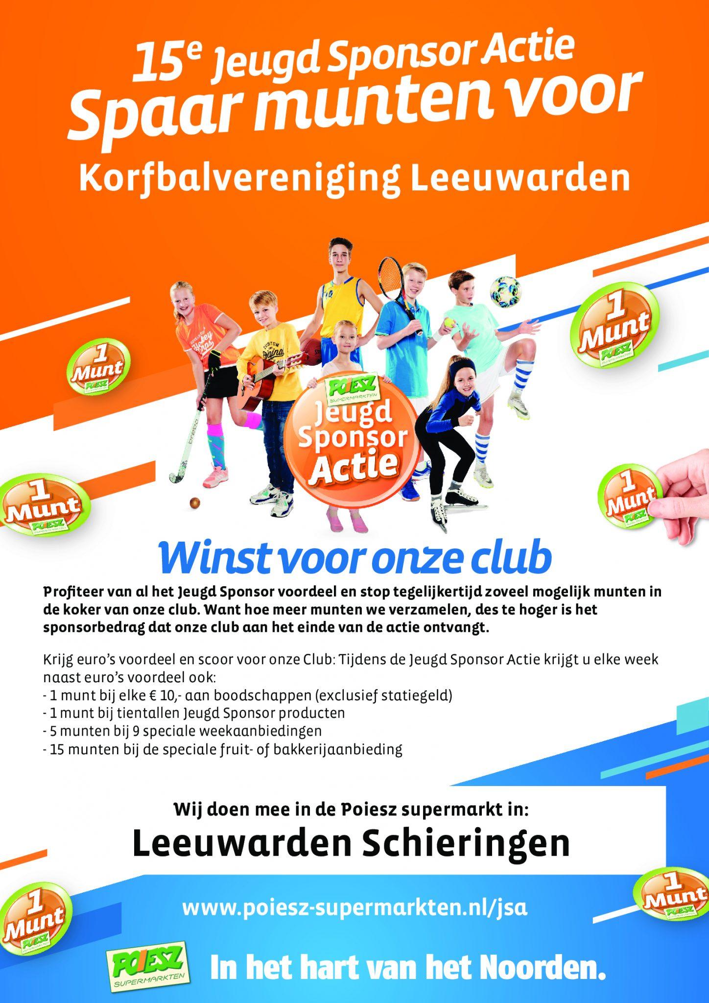 Jeugd Sponsor Actie 2020
