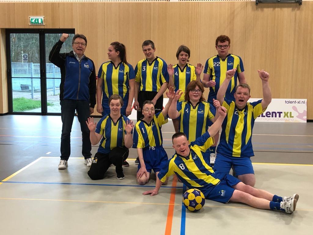 Korfbaltoernooi G-team in Emmeloord